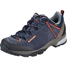Lowa Sassa GTX Low Shoes Damen navy/peach